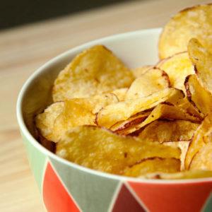 Chips, légumes & crackers