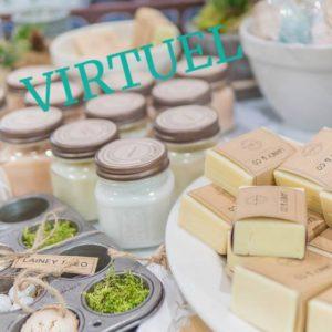 Virtuel – Café-Démo – Lotion hydratante pour le visage et gommage
