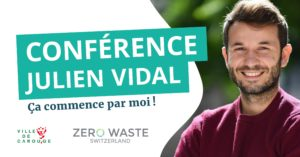 Carouge — Conférence Julien Vidal : ça commence par moi