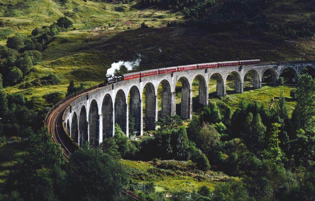 Train en montagne
