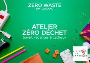 Carouge — Atelier Zéro Déchet : Travail, Vacances et Cadeaux